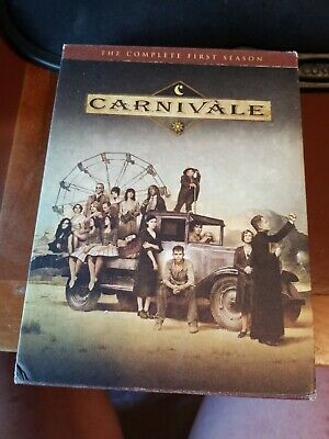 Carnivale - The Complete First Season (DVD, 2004, 6-Disc Set) • 3.58£