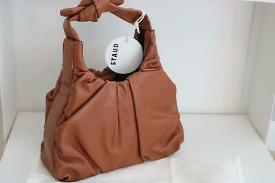 Staud Palm Bag Tan Leather Bag Was £290 New With Tags Ref LB • 95£
