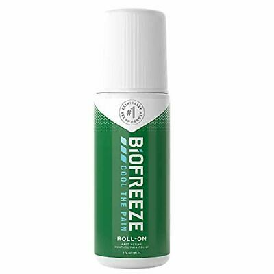 £14.89 • Buy Biofreeze Pain Relieving Roll-On, 89 Ml, Cooling Topical Analgesic, On-the-Go Us