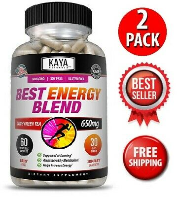 $18.95 • Buy (2 Pack) Best Energy Blend, Energy Support, Boost Metabolism, Weight Loss, Diet
