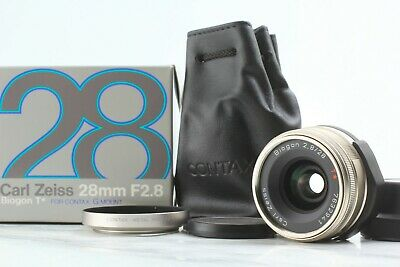 $ CDN506.15 • Buy [Almost UNUSED In BOX] CONTAX Carl Zeiss Biogon 28mm F2.8 T* For G1 G2 JAPAN #29