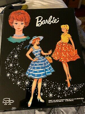 $ CDN42.32 • Buy Vintage Double-Sided Wardrobe Barbie Doll Case 1964