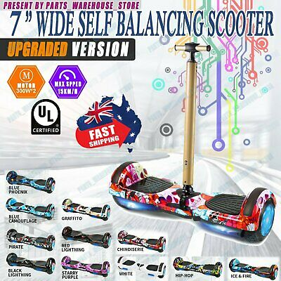 AU218.89 • Buy 7  Hoverboard Scooter Self Balancing Electric Skateboard HoverBoard Free Handle