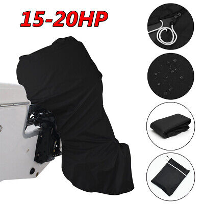 AU32.16 • Buy 15HP-20HP Full Outboard Boat Motor Engine Cover Dust Rain Protection Waterproof