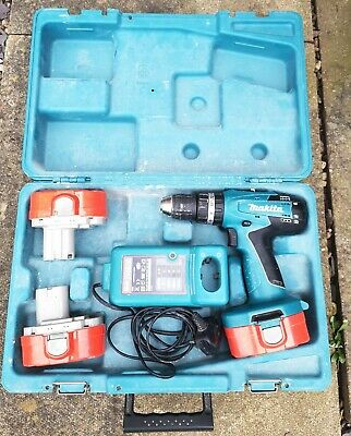 Makita 8391D Cordless Drill With 3 18v Batteries And Charger In Makita Case  • 49.99£