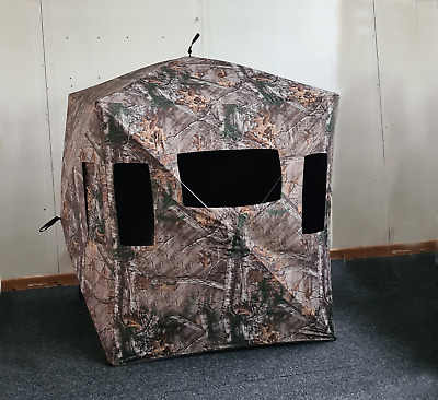£89.99 • Buy Menimal 3 Man Hunting Hub Blind, Camouflage For Shooting & Wildlife Photography