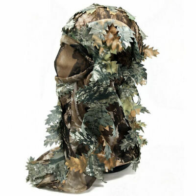 £4.99 • Buy Camouflage Hunting 3d Face Mask, Shooting, Paintballing Airsoft Sports Menimal