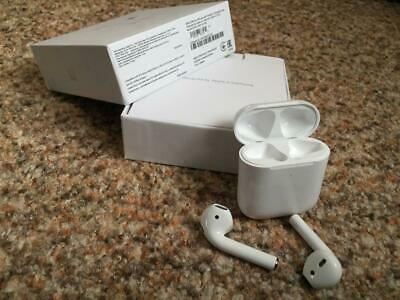 $ CDN6.34 • Buy Apple Airpods 2nd Generation Earbuds With Wireless Charging Case Original