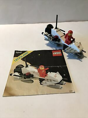 Vintage Space Lego 6842 Shuttle Craft, 100% Complete With Instructions • 8£