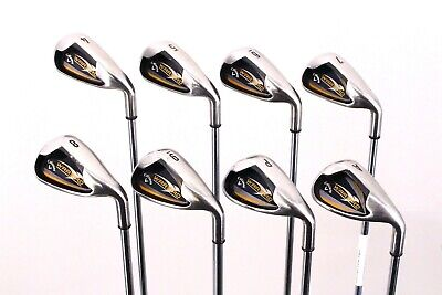 AU33.28 • Buy Callaway Warbird 8-Club Iron Set 4-AW Stock Steel Shaft Uniflex Right Hand 38.5