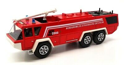 $34.31 • Buy Solido 1/63 Scale Diecast 3123 - Sides 2000 Airport Fire Tender - Red