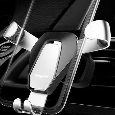 360° Gravity Car Air Vent Mobile Phone Holder Mount For IPhone 8 XS XR   Q! A! • 16.56£