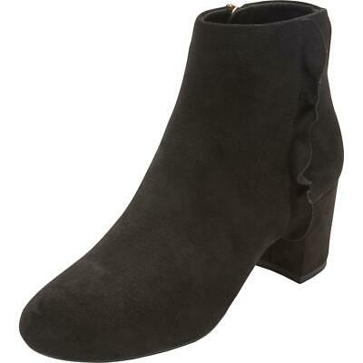 Rockport Womens Oaklee Black Booties Ankle Boots Shoes 9 Wide (C,D,W)  2685 • 15.19£