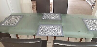 AU250 • Buy Glass Dining Table Used