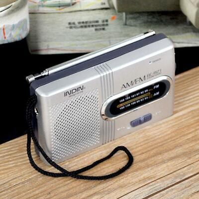 £6.58 • Buy AM FM Battery Operated Mini Portable Pocket Radio Receiver Best Reception ST