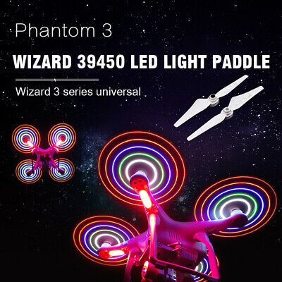 AU31.99 • Buy 4pcs LED Flash Night Light Propeller Blade Wing For DJI Phantom 3 Standard Drone