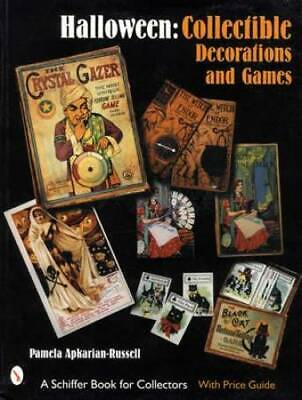 $ CDN38 • Buy Vintage Halloween Decorations & Games Collector Guide Inc Postcards Games & More
