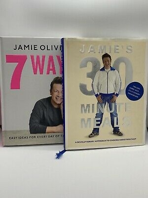 AU39.99 • Buy JAMIE OLIVER BUNDLE: 7 Ways / 30 Minute Meals (Hardcover)