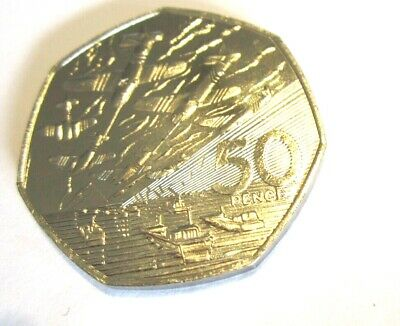 1994 50p Coin Rare D Day Landing Old Large Style Fifty Pence Battle Of Britain  • 9.99£