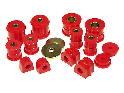 $96.95 • Buy Prothane Complete Total Suspension Bushing Kit For 98-06 Subaru WRX Impreza Red