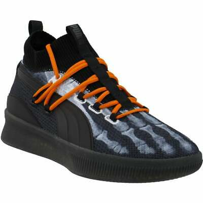 Puma Clyde Court X-Ray   Mens Basketball Sneakers Shoes Casual   - Black - Size • 57.24£