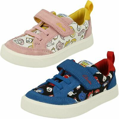 £30 • Buy Children's Clarks Toy Story Hook & Loop Canvas/Leather Shoes CITY HOWDY T