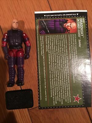 "$ CDN10.09 • Buy Gi Joe Vintage Dragonsky Oktober Guard Cobra ARAH Modern Army 1/18 3.75"" RAH Yo"