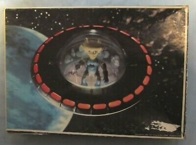 1977 Colorforms Space Warriors Alien In A UFO Spaceship 250 Piece Jigsaw Puzzle • 7.20£