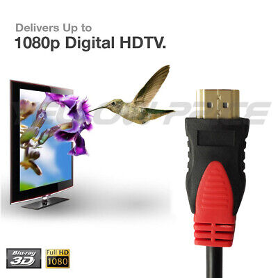 $ CDN1.99 • Buy 6FT High Speed Ultra HDMI 1.4 Cable Heavy Duty 1080P HDTV PS4 1.8 Meter Canada
