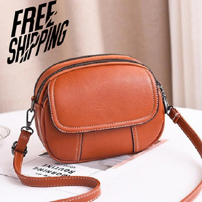 $ CDN25.20 • Buy Hot Women Leather Handbags Shoulder Crossbody Purse Tote Messenger Satchel Bags