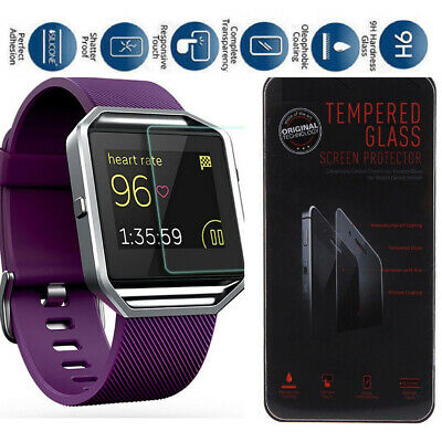 AU8.75 • Buy For FitBit Blaze Smart Watch Premium Tempered Glass Screen Protector Guard