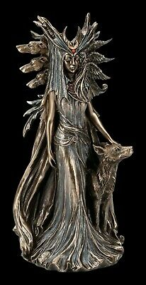 Hecate Bronze Figurine By Marc Potts Greek Goddess Ornament, Hekate Statue • 30£