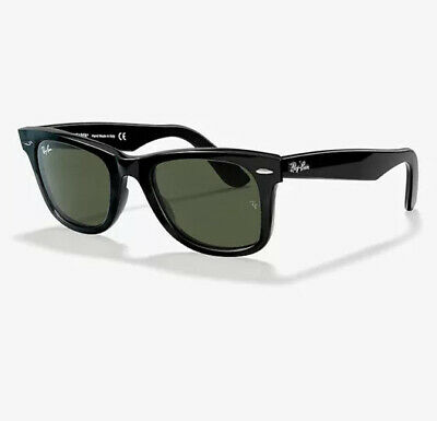 AU110 • Buy Ray-Ban Original Wayfarer RB2140 901/58 50mm Black Frame Sunglasses