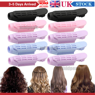 10Pcs Volumizing Hair Root Clip Instant Hair Curler Roller Wave Fluffy Clip Tool • 9.99£