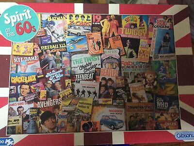 Spirit Of The 60s Jigsaw 1000pc • 3.50£