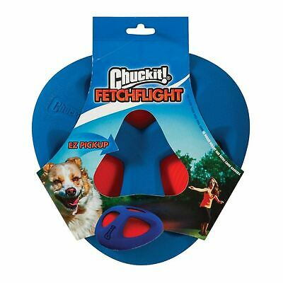 £13.72 • Buy Chuckit Fetch Flight Frisbee Throw Durable Soft Rubber Grip Toy For Dog Puppy