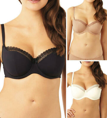 £16.99 • Buy Panache Lingerie Cleo Juna Balconnette Bra 6461 Padded Moulded Underwired