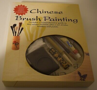 Chinese Brush Painting Set  By Jane Dwight Parragon Books NIB Rare • 50.03£