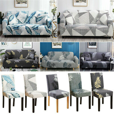 AU7.99 • Buy Stretch Sofa Cover Couch Lounge Dining Seat Chair Covers Slipcover Protector AU