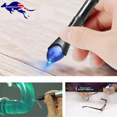 AU18.32 • Buy 5 Second Quick Fix Liquid Glue Pen UV Light Repair With Liquid Compound Super AU