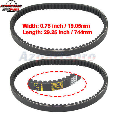 $ CDN21.20 • Buy 2pcs TORQUE CONVERTER COGGED DRIVE BELT For Comet 203591 Manco 7655 Go Kart Cart