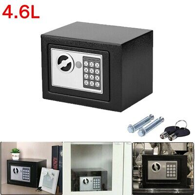 Electronic Password Security Safe Money Cash Deposit Box Office Home 4.6L • 16.99£