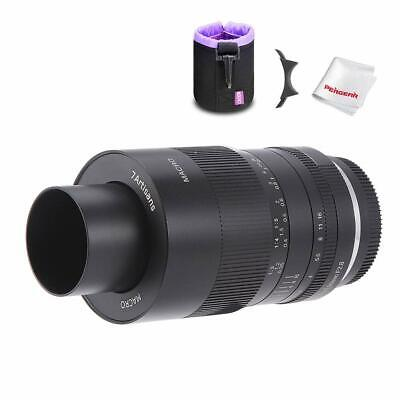 AU218.49 • Buy 7artisans 60mm F/2.8 1:1 Macro Lens For Sony E Mount APS-C NEX A6500 A6400 A6300