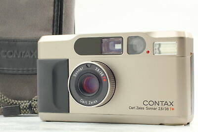 $ CDN1197.59 • Buy [N MINT+++] Contax T2 35mm Silver Point & Shoot Film Camera Case Strap From JPN