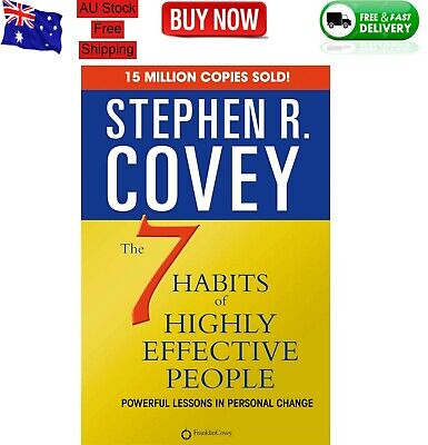 AU24.99 • Buy The 7 Habits Of Highly Effective People - By Stephen R. Covey - Paperback Book