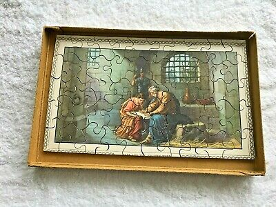 2 Vintage Scripture Picture Wooden Jigsaws - Oliphant's  Keswick  Series • 12£