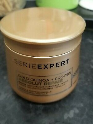 L'Oreal Serie Expert Absolut Repair 250ml Mask With Gold Quinoa + Protein • 13.95£