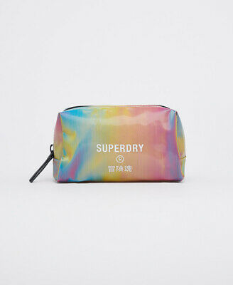£12.50 • Buy Superdry Womens Jelly Wash Bag Size 1Size