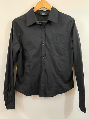$ CDN27.74 • Buy Harley Davidson Womens Black Motorcycles Casual Button Down Shirt Top Size Large