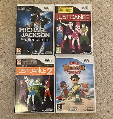 Nintendo Wii Games Bundle Including Just Dance 1 And 2 • 10£